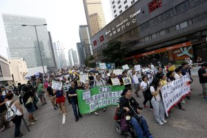 Hong Kong Occupy Central