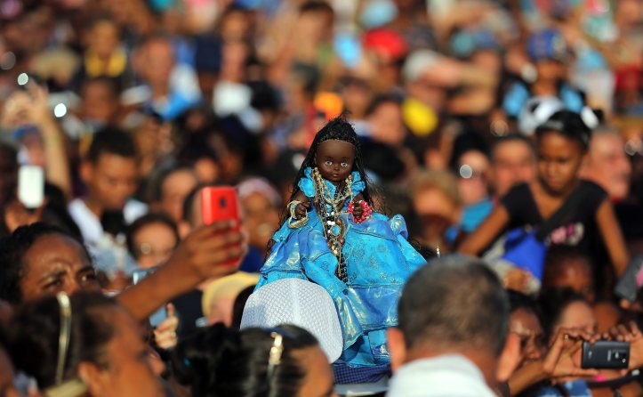 The Virgen De Regla Celebration In Cuba