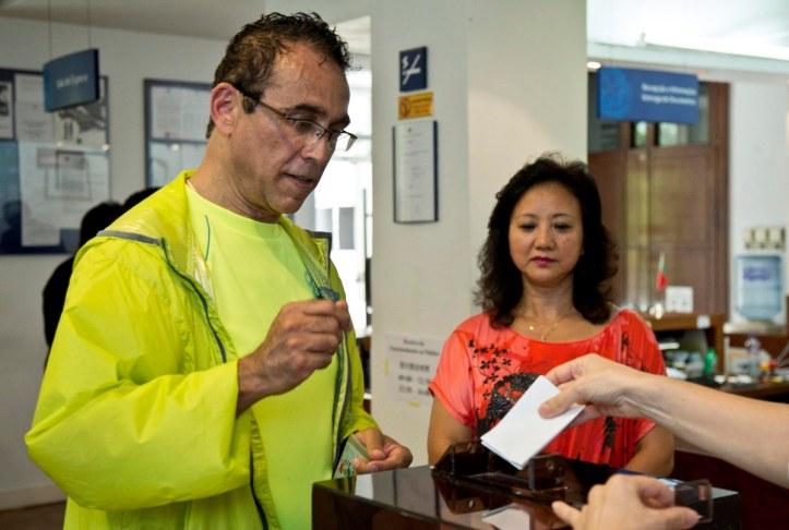 Eleições para o conselheiro das Comunidades de Macau