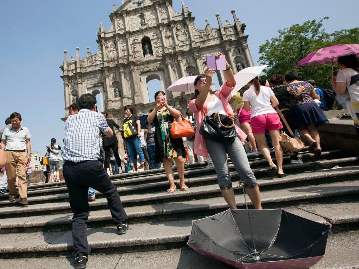 Macau/15 anos: turistas