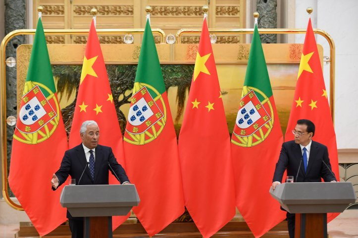 Portuguese Prime Minister Costa in China