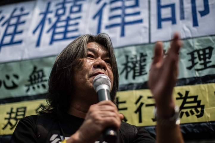 HONG KONG-CHINA-LAW-POLICE-RIGHTS