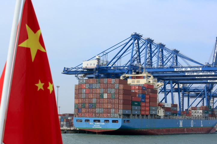 General Images Of Tianjin's Port