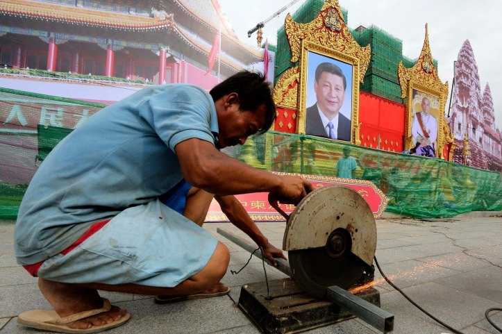 Chinese President Xi Jinping visits Cambodia