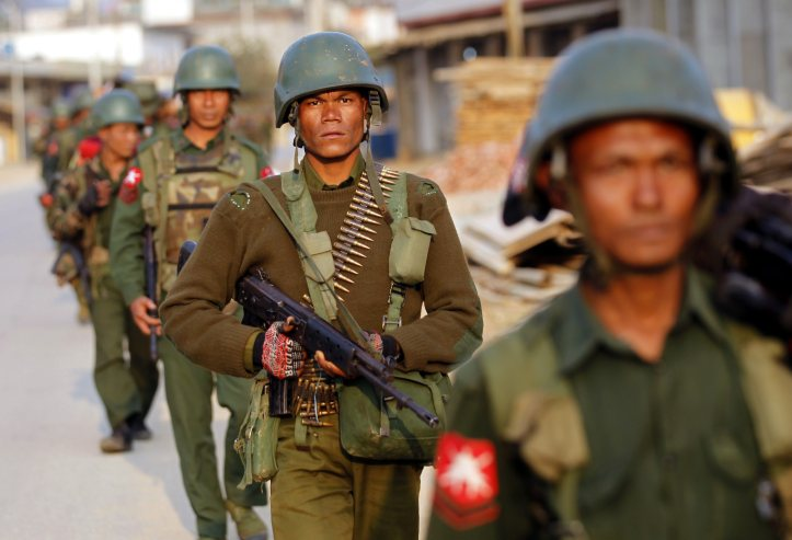 47 soldiers killed in northern Myanmar, state media says