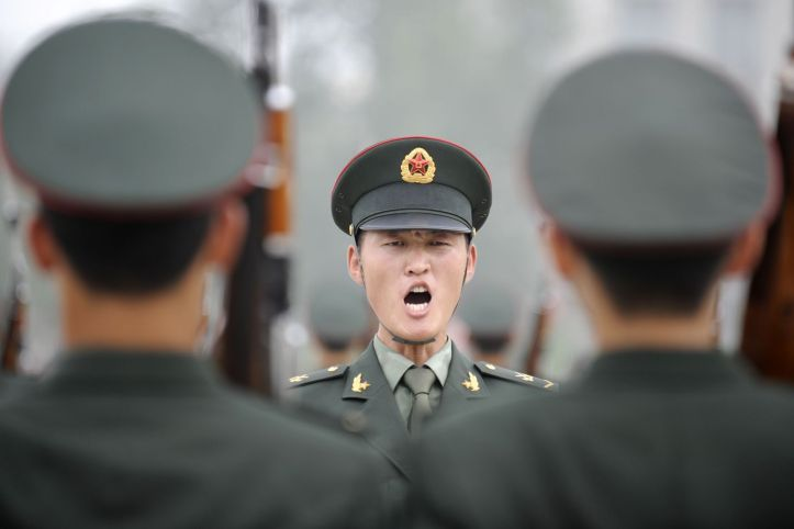 CHINA-MILITARY-CEREMONY  LJ802