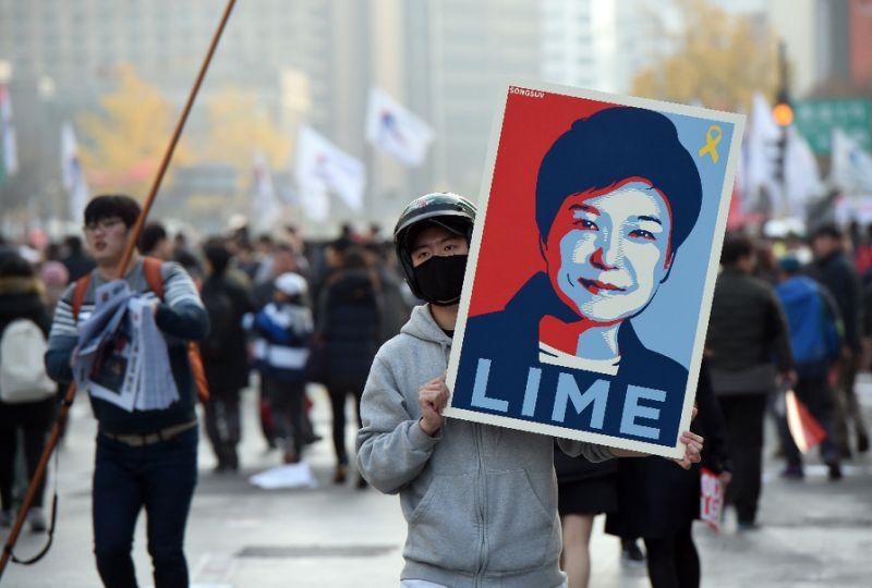 Presidente sul-coreana diz estar disposta a renunciar após caso de corrupção