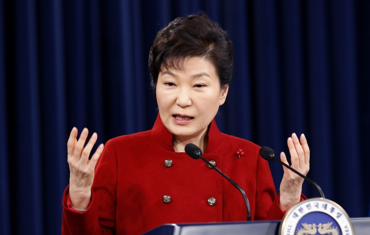 S. Korean President Park Pledges To Work For Strong Sanctions On N. Korea