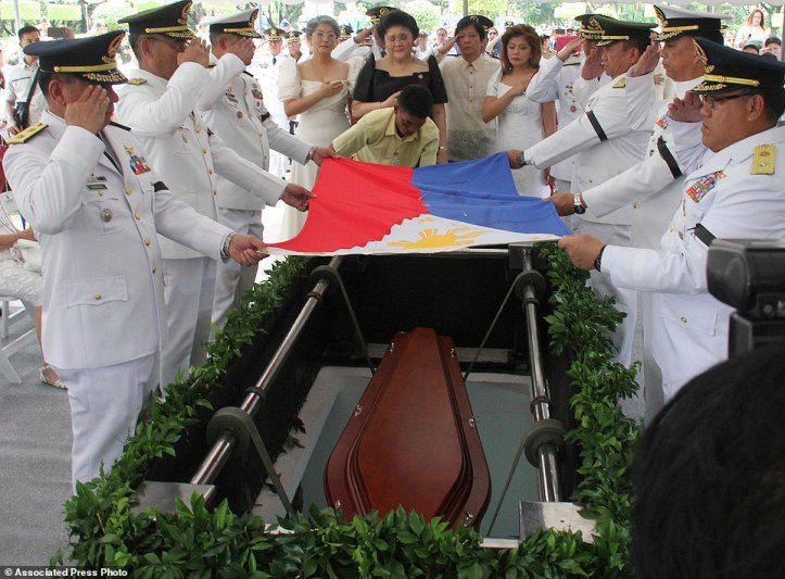 Philippines Marcos Hero's Burial