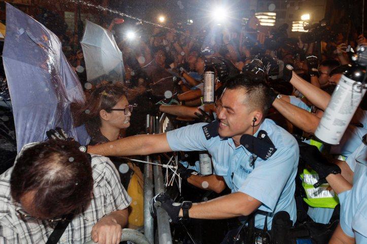Hong Kongers protest China government's interpretation of Basic Law