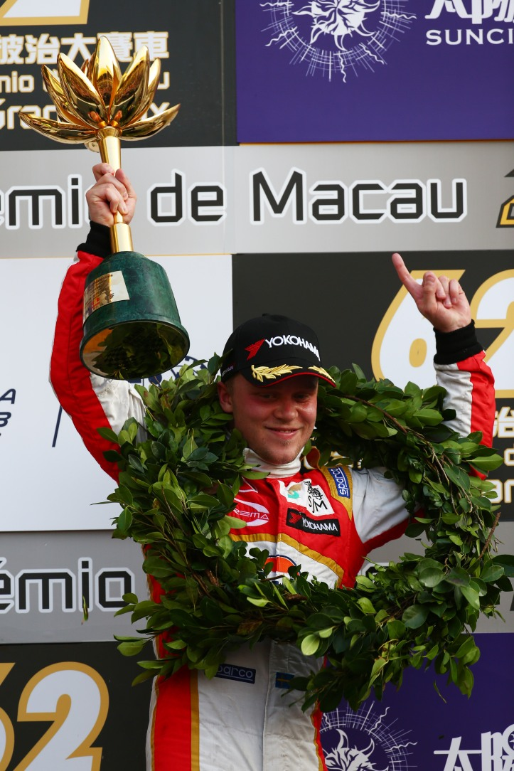 Felix ROSENQVIST, SJM Theodore Racing by Prema Powerteam  62nd Macau Grand Prix