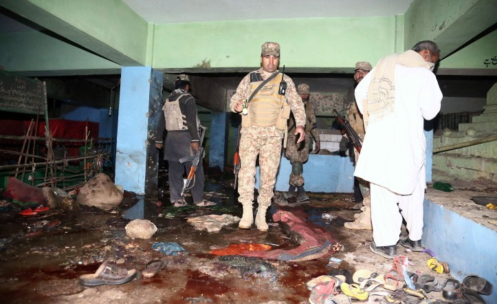 At least 52 killed in Pakistan shrine blast