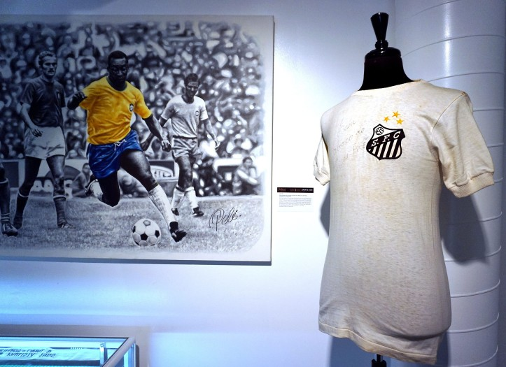 Media preview of sports memorabilia of sporting icons Pele and Muhammad Ali and others