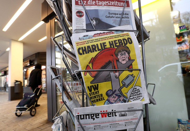 Charlie Hebdo: first German edition