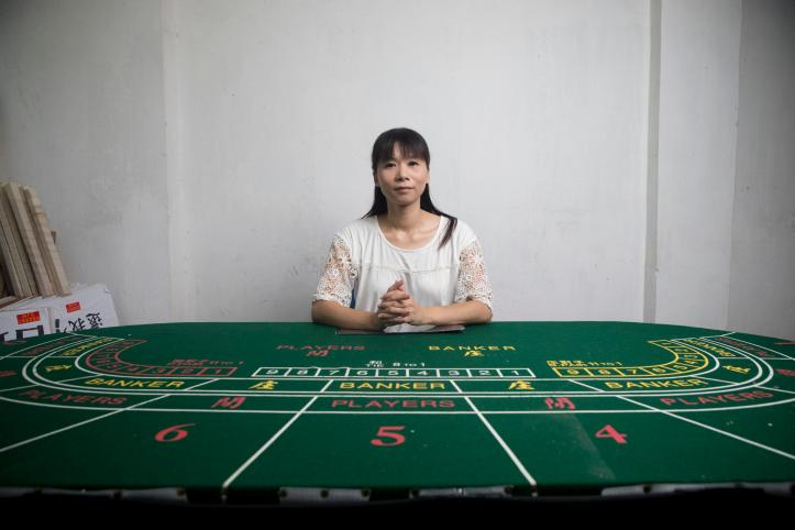 Macau Gaming Industry Frontline Workers' Union Co-Founder Cloee Chao