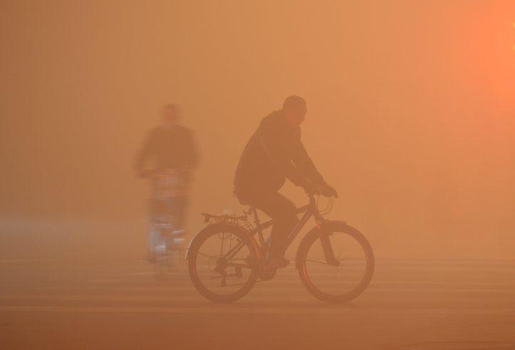 Heavy haze covers northern China