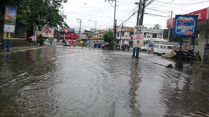 PHILIPPINES - MANDALUYONG - WEATHER - TYPHOON