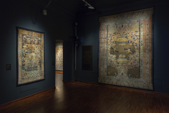 04 Installation Shot of Chinese Imperial Carpets