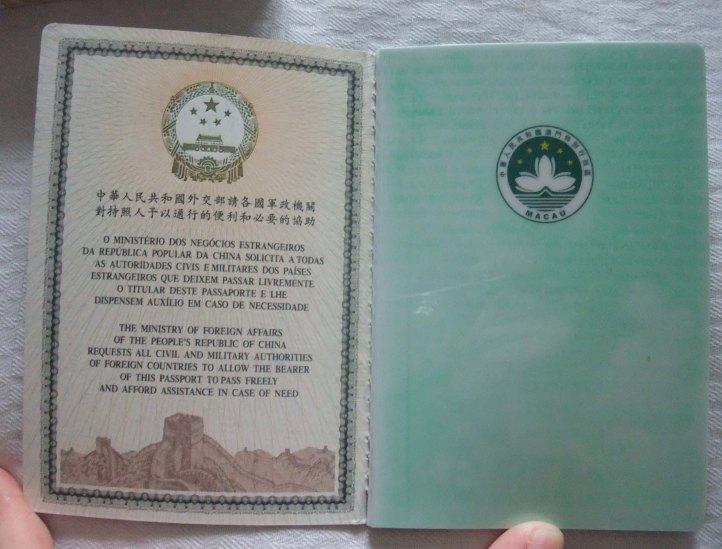 3.Passaporte