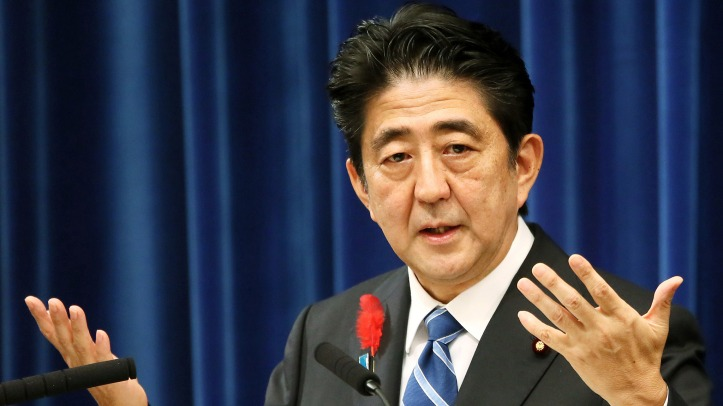 0.Shinzo Abe