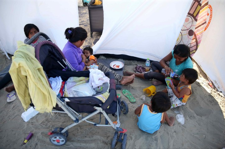 Shelter for Peruvians affected by heavy rains and floods
