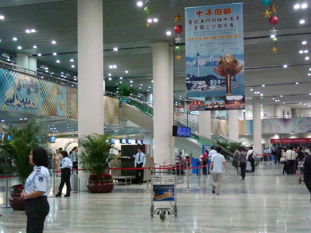 Aeroporto Internacional De Macau : Aeroporto de macau abre concurso para operadora base fixa