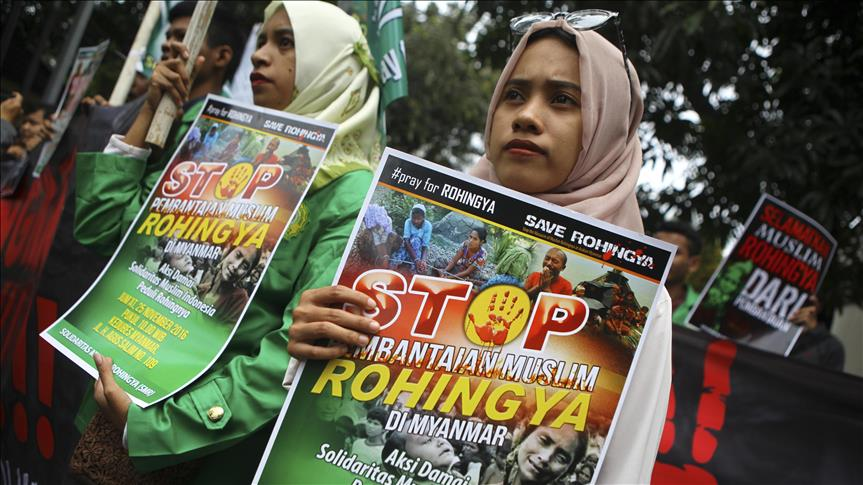 Líder birmanesa critica