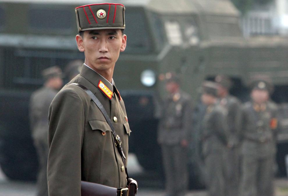 Divulgado vídeo que mostra deserção de norte-coreano