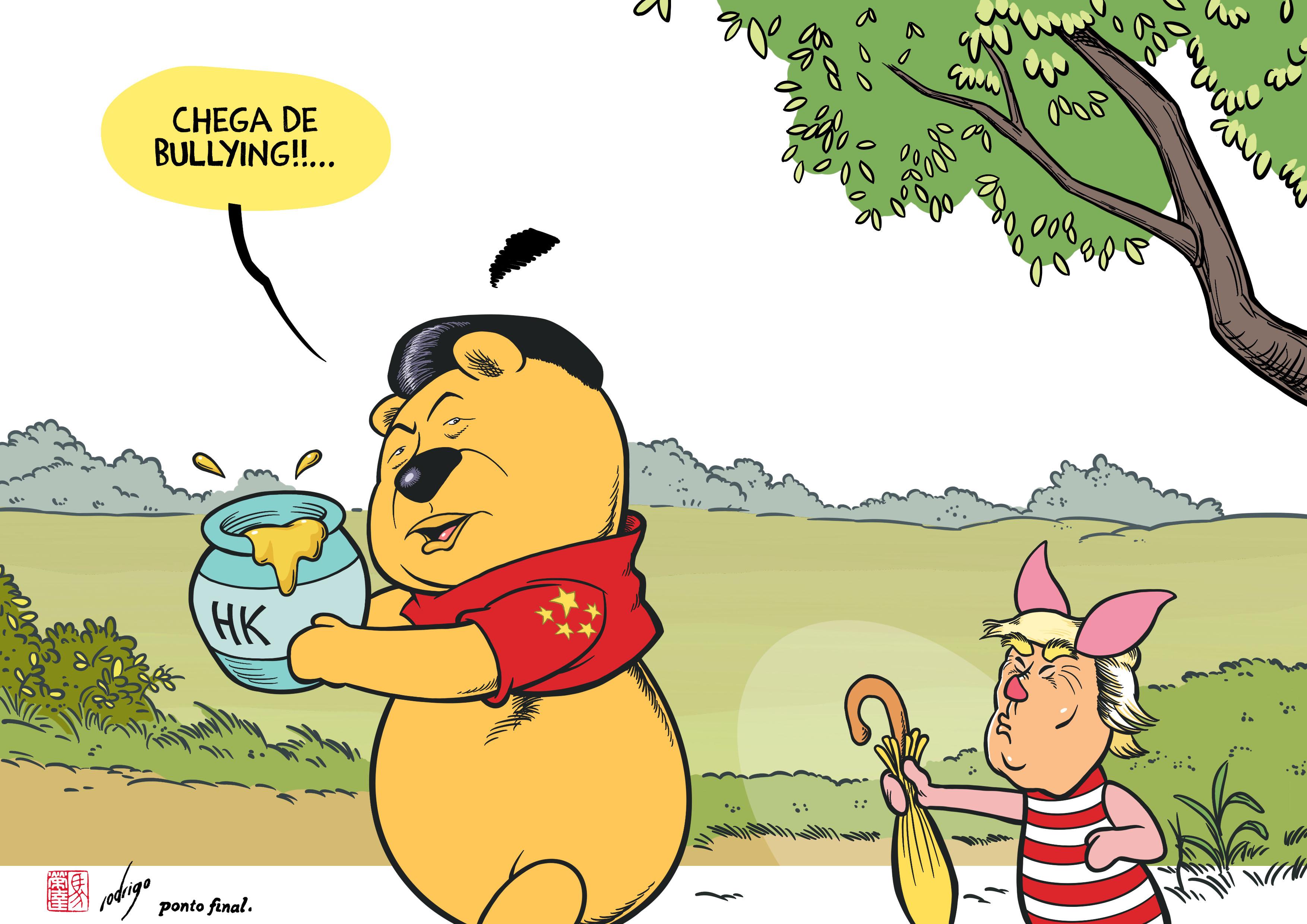 Cartoon Rodrigo de Matos-PF1947